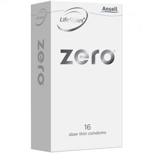 Ansell Lifestyles Zero Uber Thin Condoms