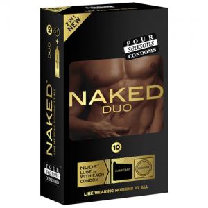 Four Seasons Naked Duo Condoms