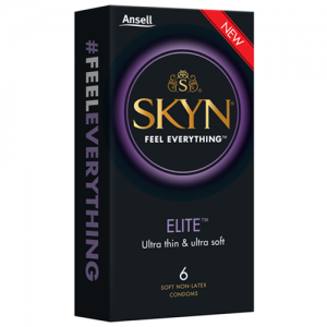 Ansell SKYN Elite Condoms – 6 pack