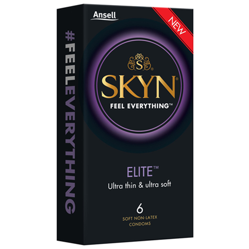 Ansell SKYN Elite Condoms – 6 pack